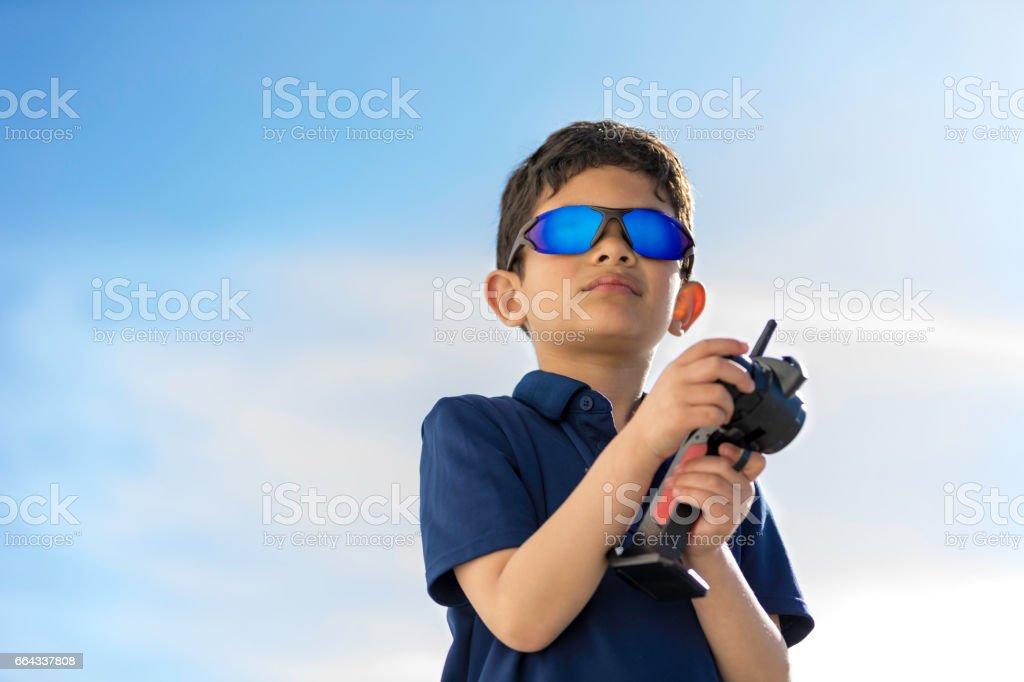 Cool Remote Control Car Kid stock photo