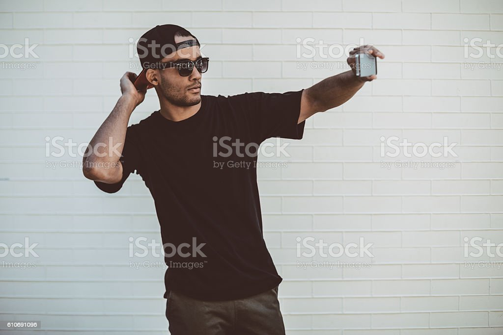 Cool selfie. - Photo