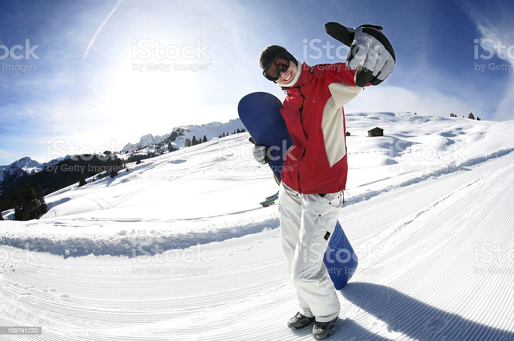 Cool Snowboard Girl Stock Photo Download Image Now Istock