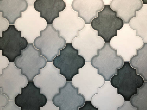 Cooler Tileable Pattern Hintergrund – Foto