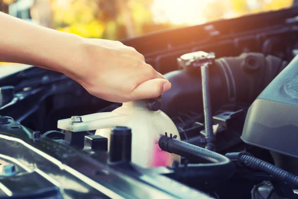 冷卻液車檢查 - 恢復精神 個照片及圖片檔