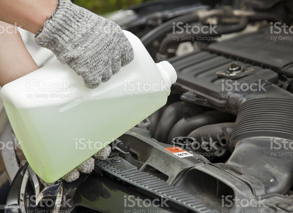 coolant stock photo