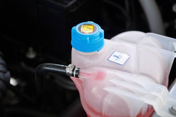 Liquide de refroidissement. - Photo