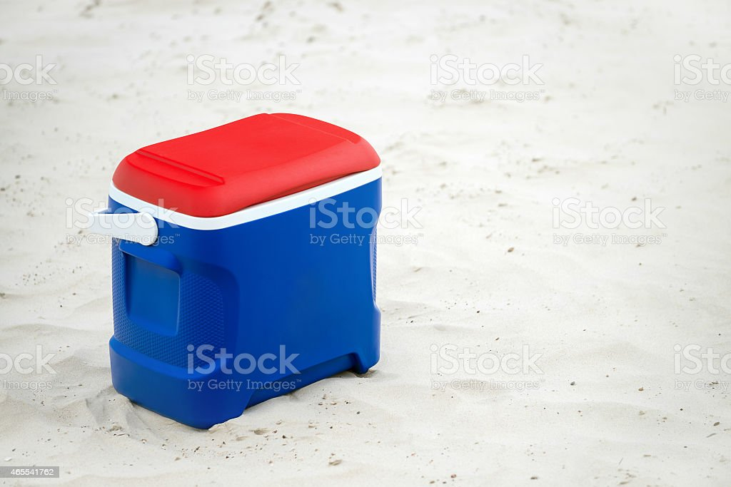 Cooler box stock photo