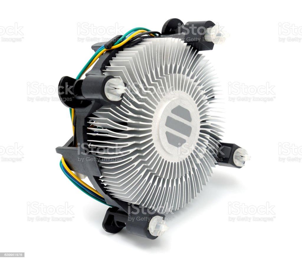 CPU cooler stock photo