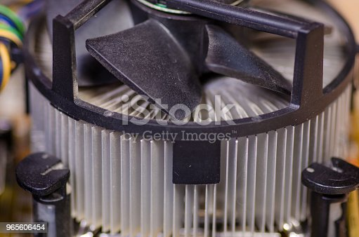 istock cooler radiator processor macro 965606454