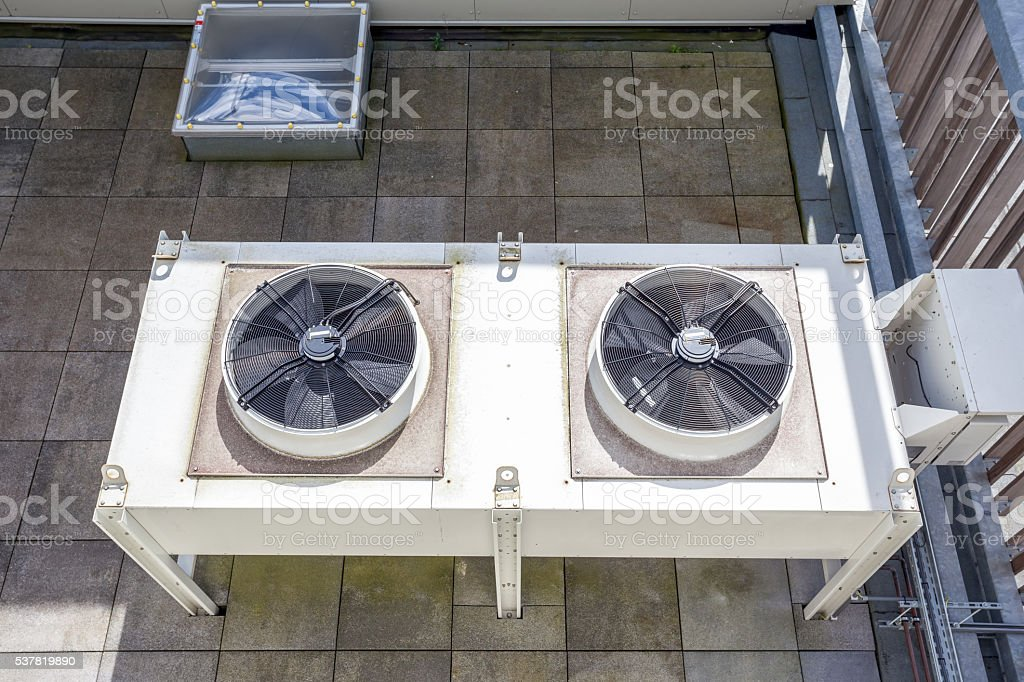 cooling air conditioning stock photo