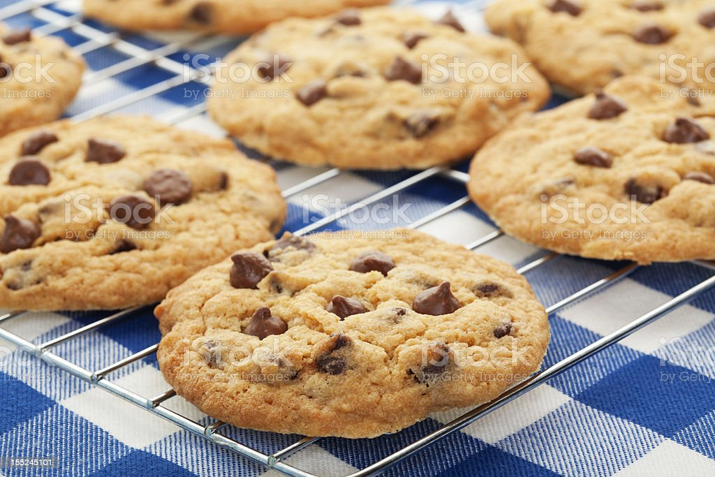 Cooling Cookies stock photo