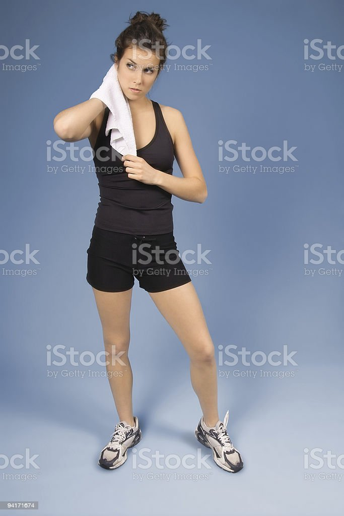 Cooling Down stock photo