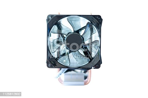istock cooling fan system of computer on white background 1125812832