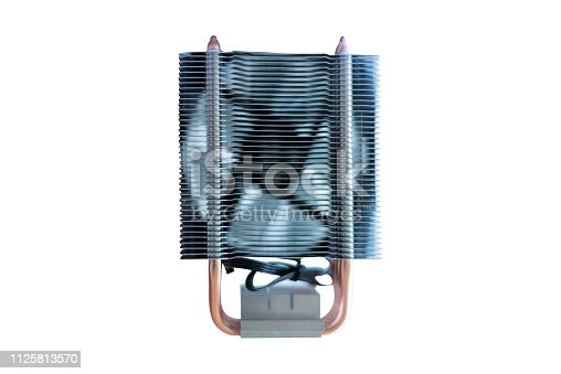istock cooling fan system of computer on white background 1125813570