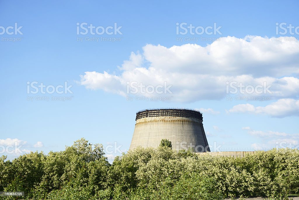 Cooling Tower in Chernobyl royalty-free stock photo