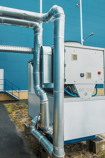 Cooling Unit Chiller Commercial Industrial Ventilation Air