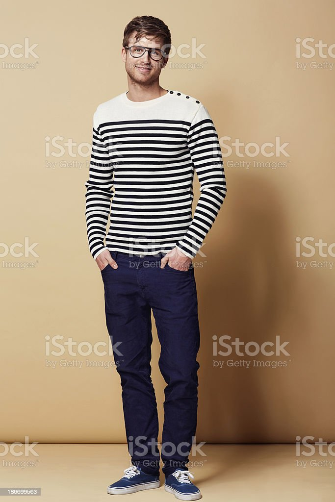 Coolness comes natural to me... royalty-free stock photo