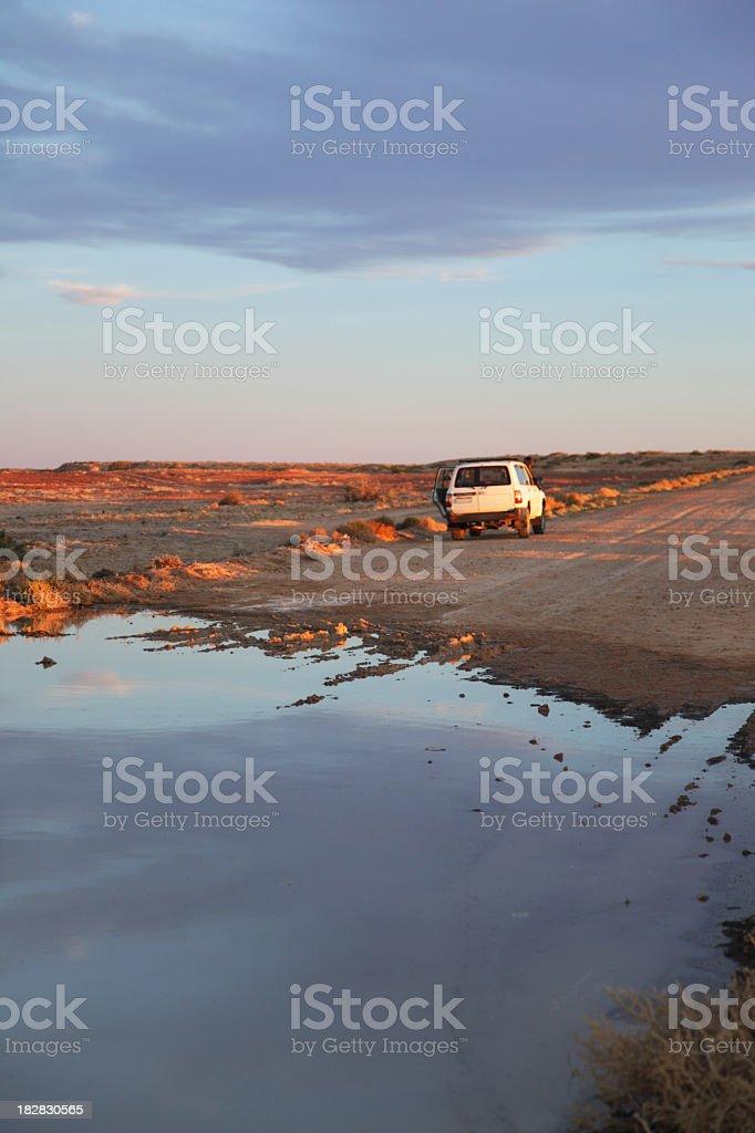 Cooper creek stock photo