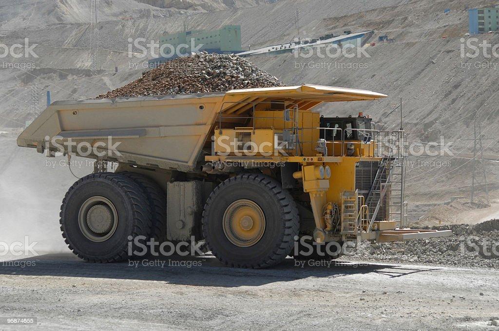 cooper camión - foto de stock