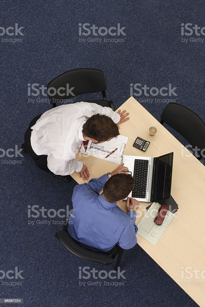 cooperation - Royalty-free Adult Stock Photo