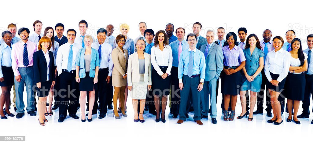 Cooperation Professional Partnership Teamwork Concept stock photo
