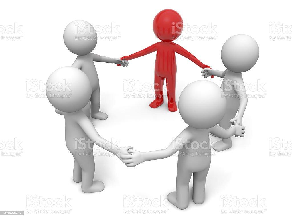 Cooperation,partner,team stock photo
