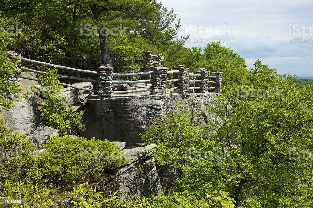 Coopers Rock royalty-free stock photo