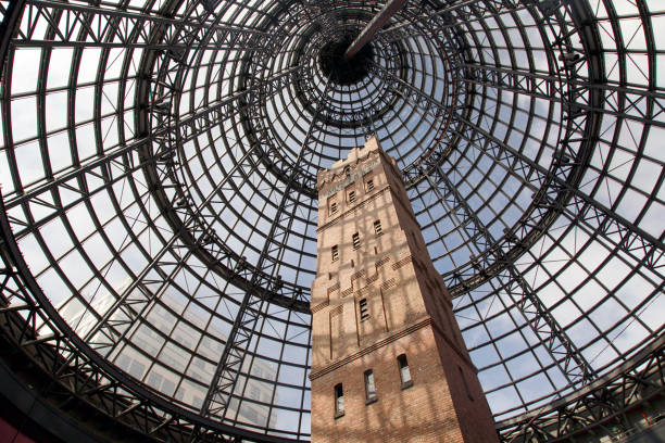 Coop's Shot Tower - Melbourne stock photo