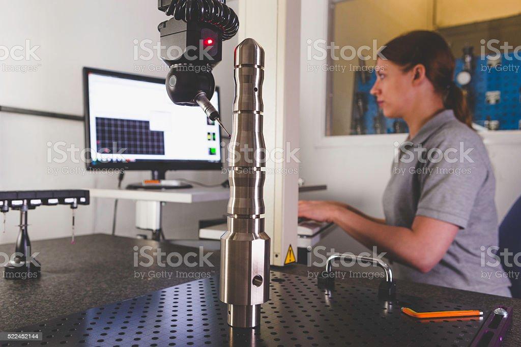 Coordinate Measuring Machine stock photo