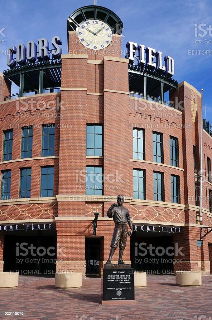Coors Field, Colorado Rockies, Denver stock photo