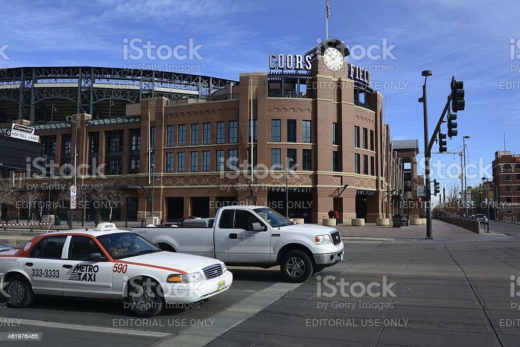 Coors Field stock photo