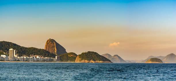 Copacabana Beach and Sugar Loaf stock photo