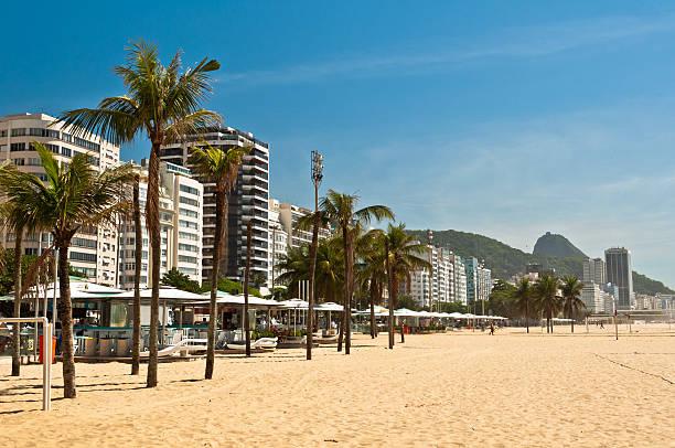 Copacabana Beach in the Morning stock photo