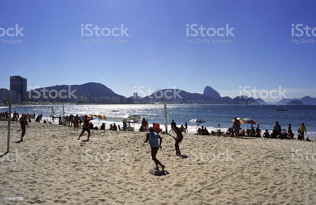 Copacabana Beach royalty-free stock photo