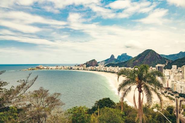Copacabana Beach, Rio de Janeiro stock photo