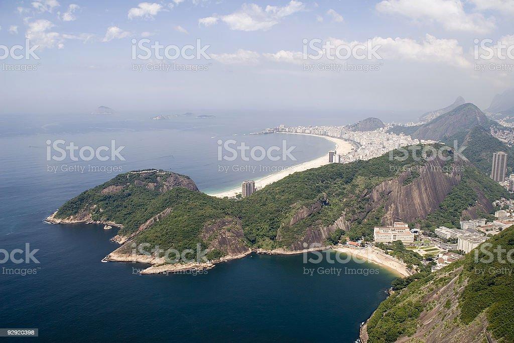 Copacabana Beach, Rio royalty-free stock photo
