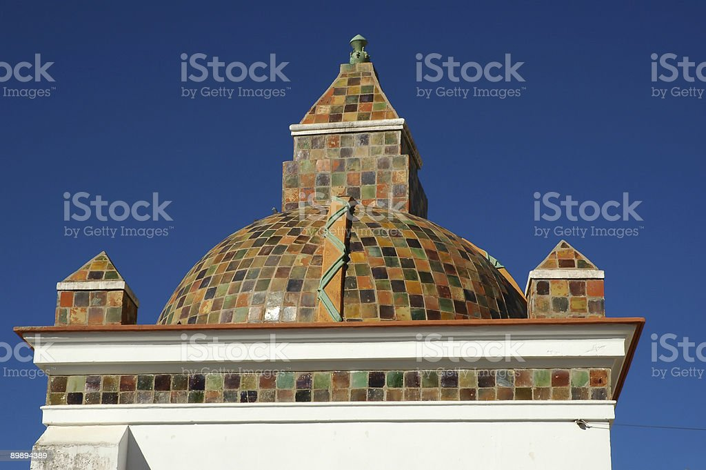 Copacabana Cathedral royalty-free stock photo