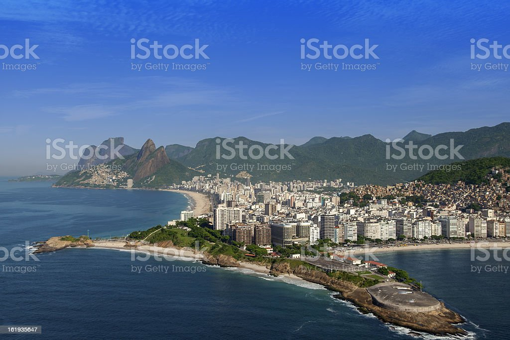 Copacabana Fortification stock photo