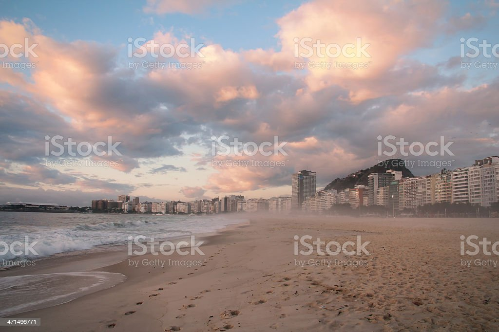 Copacabana royalty-free stock photo