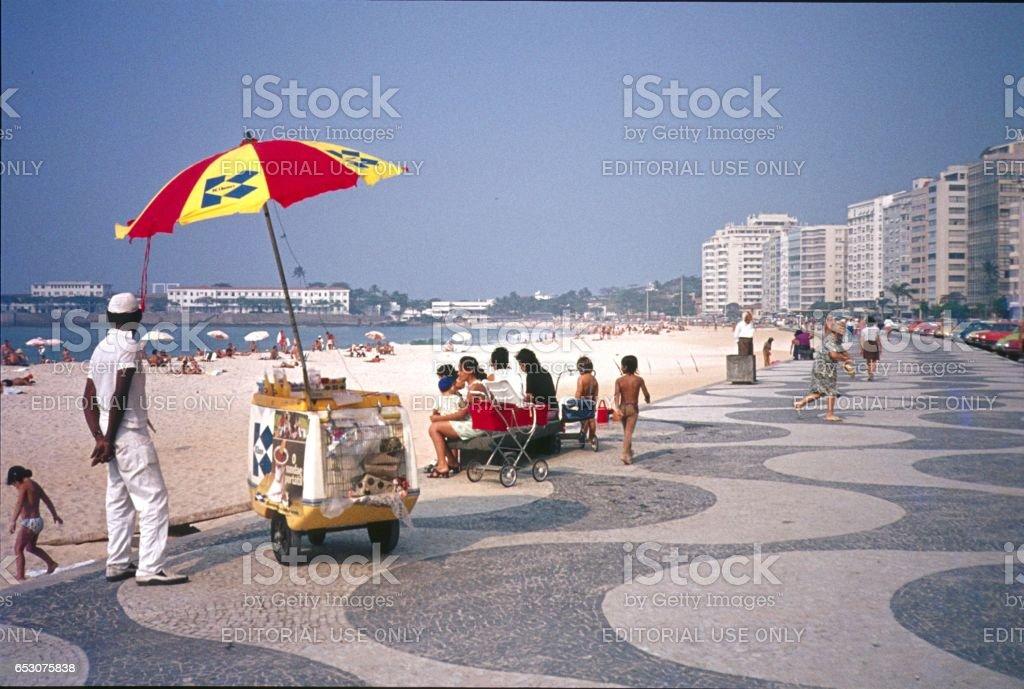 Copacabana, Rio de Janeiro II. - foto de stock