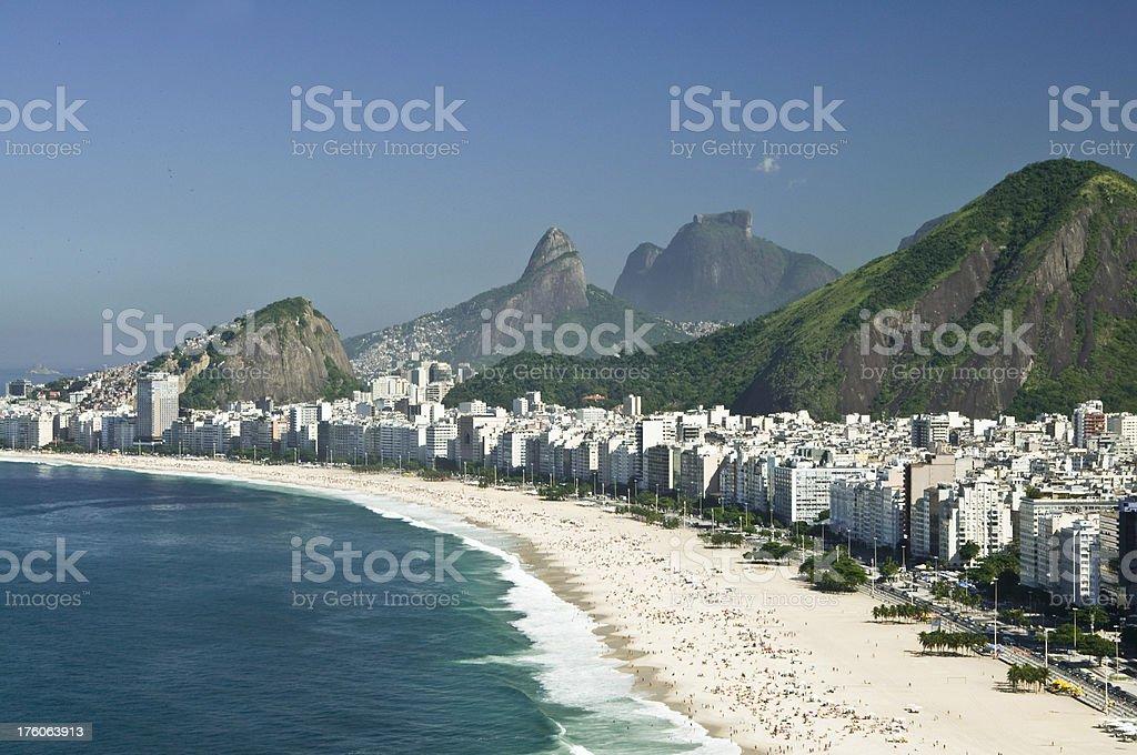 Copacabana, Rio de Janeiro royalty-free stock photo