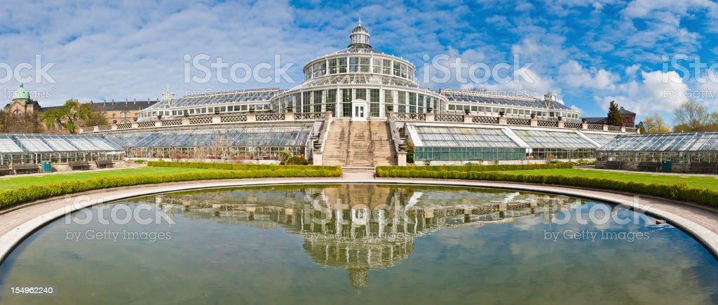 Copenhagen Botanical Garden Palm House Denmark royalty-free stock photo