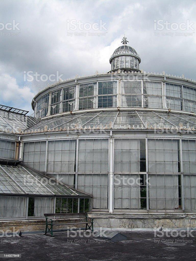 Copenhagen Botanical Gardens stock photo