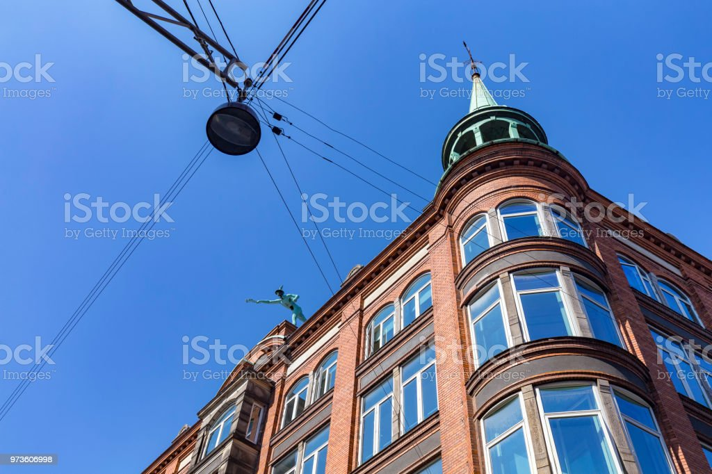 Copenhagen Building Detail stock photo