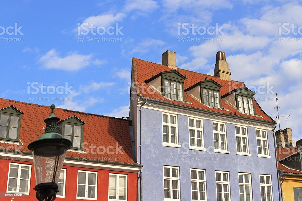 Copenhagen buildings royalty-free stock photo