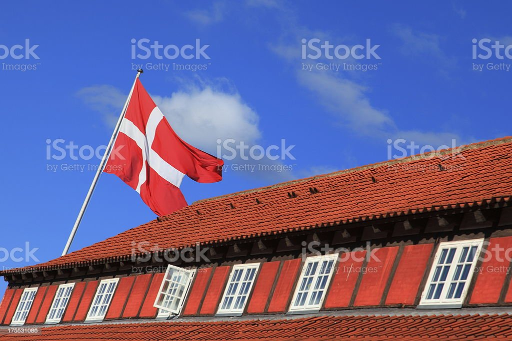 Copenhagen Citadel / Kastellet i København stock photo