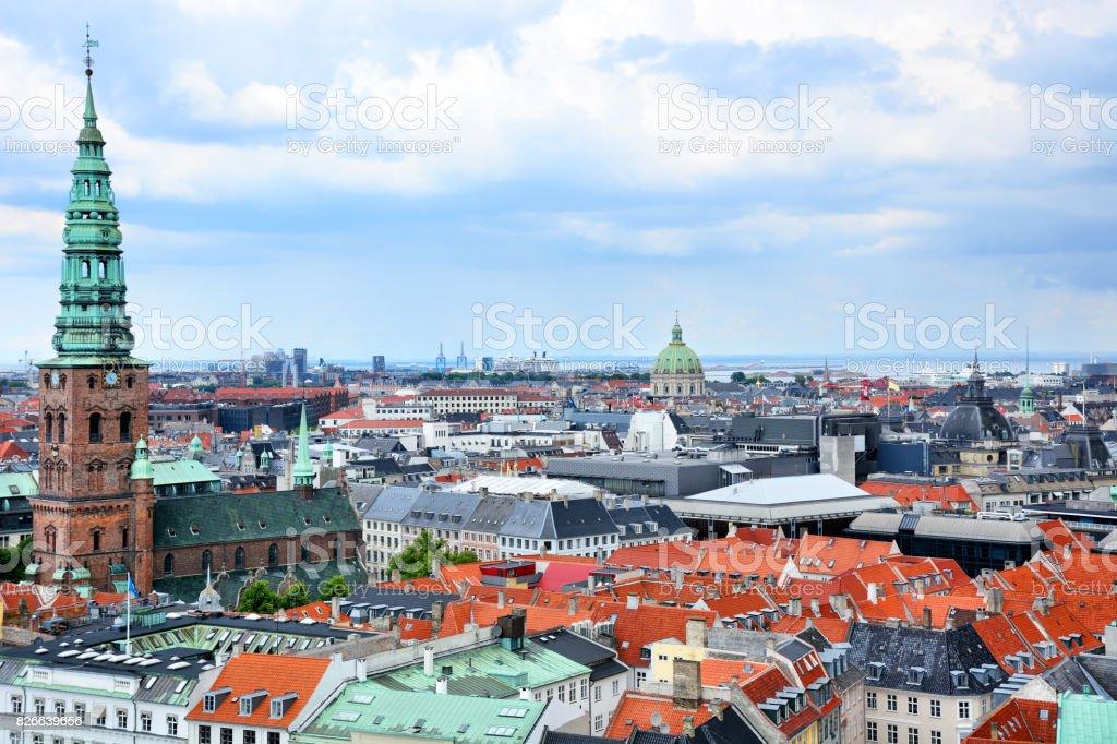 Copenhagen Cityscape stock photo
