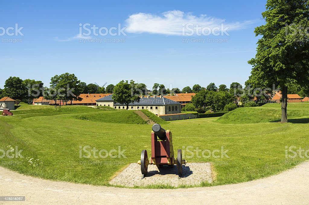 Copenhagen Denmark Kastellet royalty-free stock photo