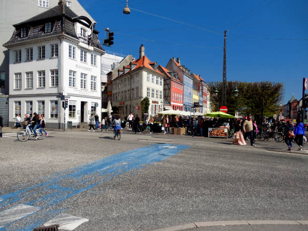 Copenhagen Denmark, Outdoor and Cultural stock photo