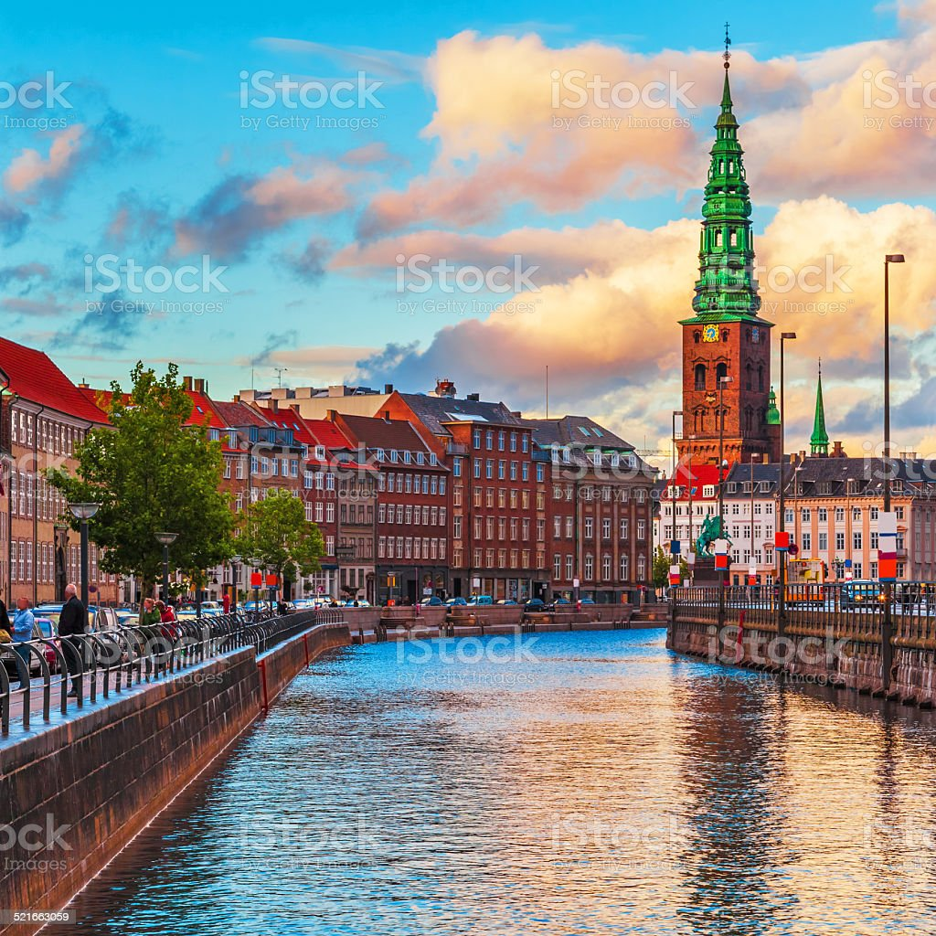 Copenhagen, Denmark stock photo