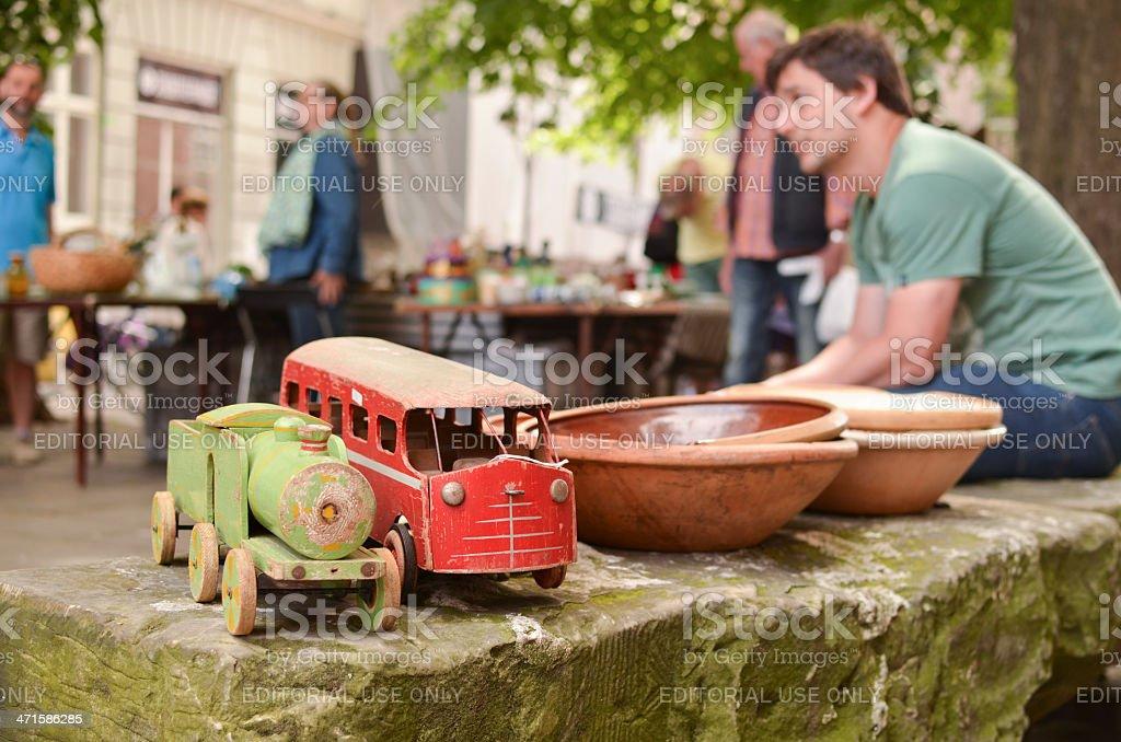 Kopenhagen flea market – Foto