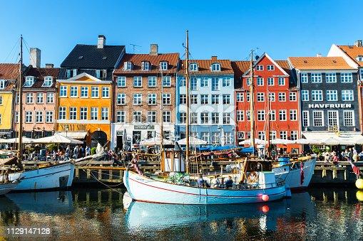 Copenhagen, Denmark, Nyhavn, Scandinavia, Europe