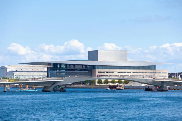 Copenhagen Opera House stock photo